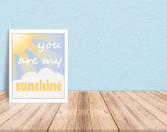 Sunshine Nursery Wall Art
