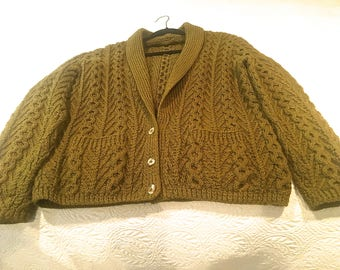 Tree of Life Aran Cardigan