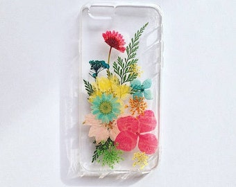 pressed flower case iphone 6/6s 4.7