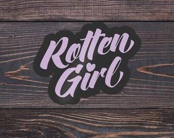Rotten Girl Fujoshi Anime Fangirl Weatherproof Sticker