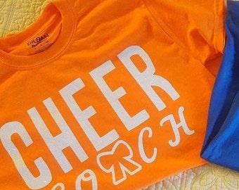 Cheer Coach Tshirt