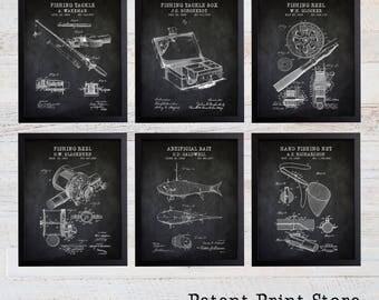Fishing Patent Prints. Fishing Prints. Fishing Posters. Fathers Day Gift. Gift for Him. Fishing Art. Fishing Wall Art. Fishing Decor. 278