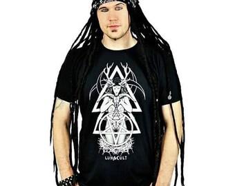 Horned Goddess Top Occult Shirt