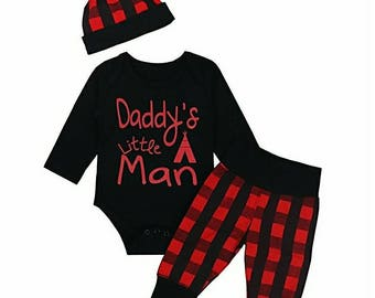 Daddy's Little Man, 3 Piece Pant Set