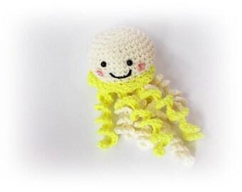Octopus jellyfish Crochet octopus Knit octopus crochet Cute Octopus Toy Stuffed octopus knitted amigurumi wedding decoration