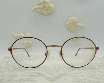 90's ladies prescription eyeglasses, made in Italy