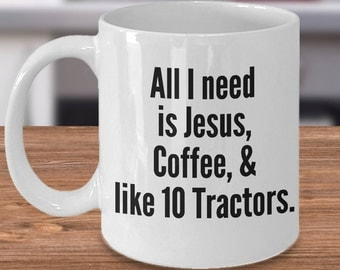Farm Family Gift, Personalized Tractor Gifts, Tractor Lover Mug, Tractor Gift Idea, Tractor Owner Mug, Mug for Tractor Lover, Tractor Cups