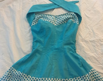 1950's pin up style sun top