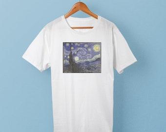 The Starry Night - Vincent van Gogh shirt