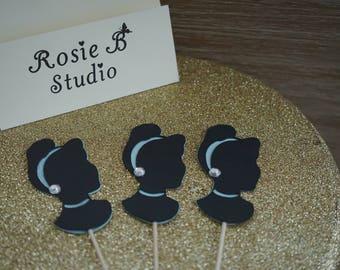 Cinderella Party, Cinderella cupcake toppers, Princess Party, Princess Cinderella Party