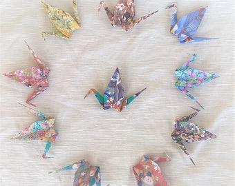 Crane fantasies Kimono in 10 different fantasies (10pcs)