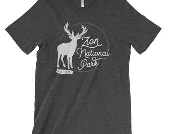 Zion National Park Adventure Unisex Bella Canvas Tshirt