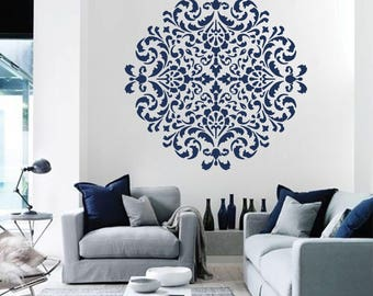 Mandala Moroccan Stencil Moroccan Pattern For DIY Wall Decor Modern Home  Stencils Mandala Wall Art Yoga