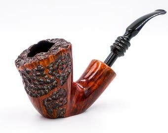 Restored Nording Freehand vintage estate briar pipe