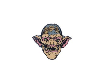 The Witcher & Gwent inspired 'Keg Troll' hard enamel lapel pin badge