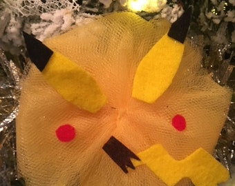 Pikachu Headband/Pokemon Headband/Baby Headband/Baby Shower Gift/Kids Headband/Trendy Baby Headband/Baby Accessories