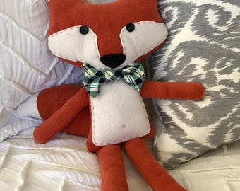 Handmade Fox Stuffed Animal