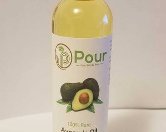 Best-Pure-Natural-Refined Avocado Oil for Hair-Face-Skin - Avocado Oil Benefits-Use-Uses of Avocado Oil on Hair-Skin
