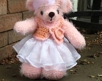 Teddy bear crochet