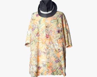 Vintage mens shirt•Pastel mens summer shirt•90s hippie button down•Short sleeve shirt•90s clothing men•Mens button up shirt•90 hipster shirt