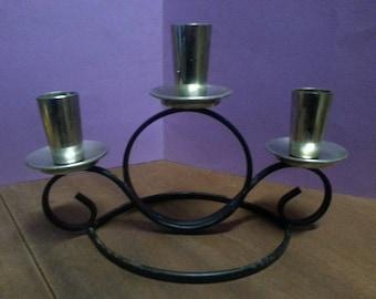 Vintage Turner Candelabra Made in Australia / Retro Candle Holder