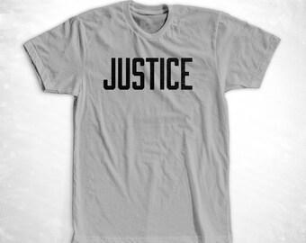 Men's Justice Support the ACLU tee! Donation T-shirt American Civil Liberties Union Bold anti-trump - donates 20% | charity sizes XS - XXL