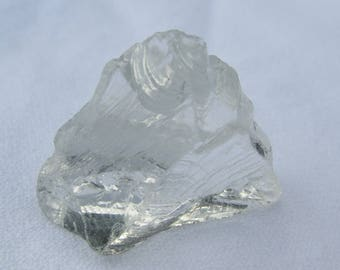 Clear Monatomic Andara stone, volcanic glass, crystal, 23 grams, Colour: 'Clear', 'Cosmic Ice', Spiritual development, Healing