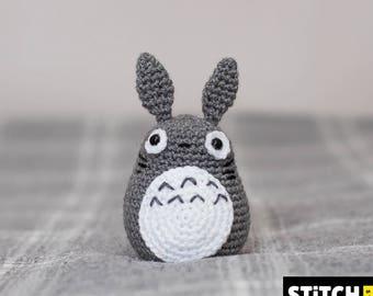 Crochet Totoro Plush, Totoro Toy Gift, My Neighbour Totoro, Totoro, Totoro Gift, Totoro Amigurumi Doll, Studio Ghibli, となりのトトロ, Miyazaki