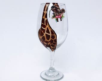 La Giraffe Wine Glass – 21 oz