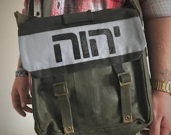Yahweh Messenger Bag *One Of A Kind Vintage