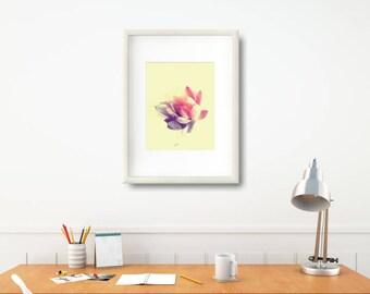 Succulent Art Gift, Xmas Wife Art, Modern Succulent Art Print, Minimalist Decoration, Modern Floral Art Print, Modern Floral Wall Art