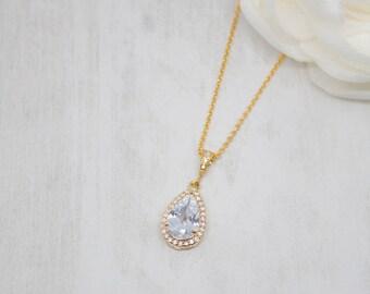 Chain yellow gold wedding jewelry Bridal jewelry