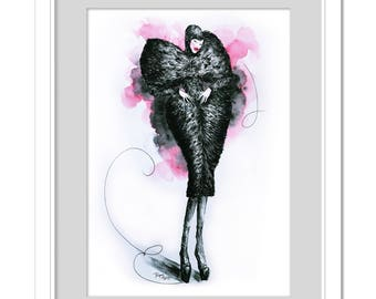 Kiquy's model - Alexander McQueen Fall 2009