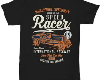 Speed Racer 1989 Raceway T-shirt