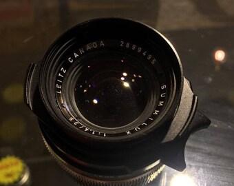 Leica Leitz Canada Summilux 35mm f1.4