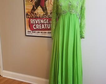 Vintage 1960s Gown