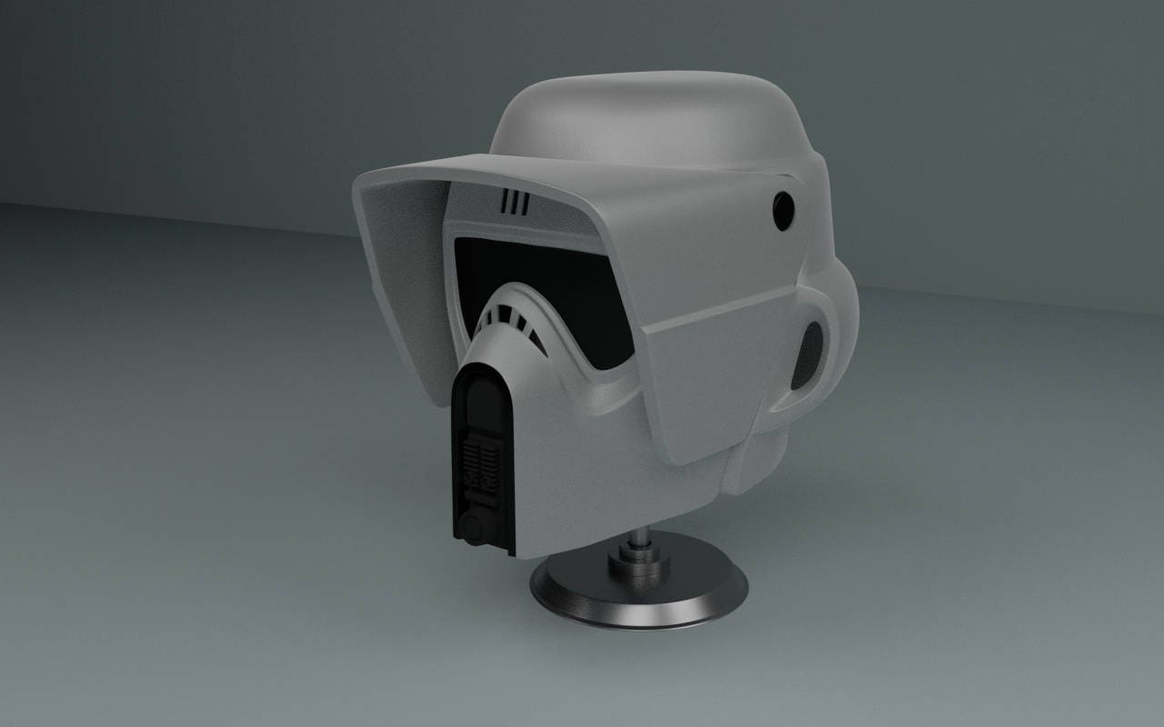 This is a picture of Inventive Star Wars 3d Printer Files
