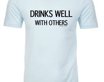 Drinks Well With Others Fitted Crew