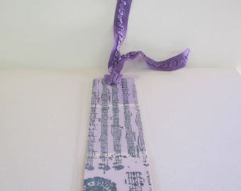 Bookmark in Pink and Purple