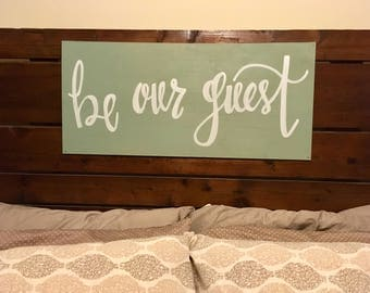 Guestroom Sign