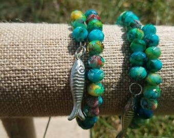 Tropical Fish Bracelet