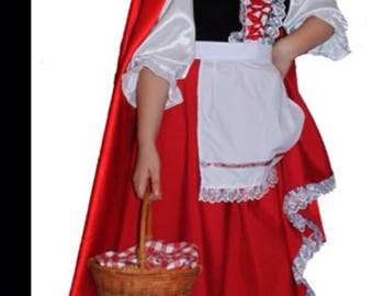 Little Red Riding Hood. Halloween costume. Costume for rent.