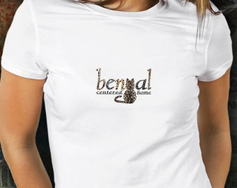 Bengal Centered Home T-shirt