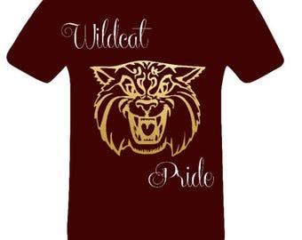 BCU Wildcat Pride shirt