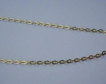 5 meters of chain Golden Link 3 x 2 mm