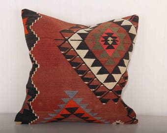 Large kilim pillow Etsy