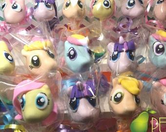 My Little Pony Cake Pops Birthday