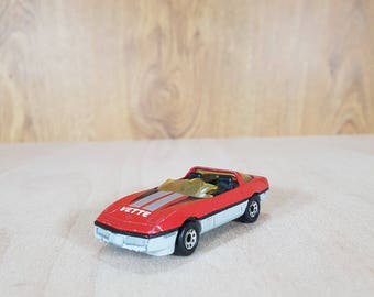 Matchbox - Matchbox car - Matchbox 1983s - CORVETTE - Collectible Car - Vintage Vehicles - Made in Macau.
