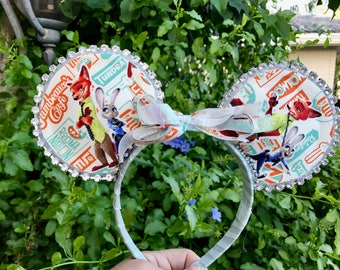 Zootopia Inspired Mouse Ears