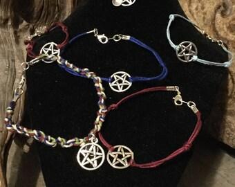 pentagram bracelets